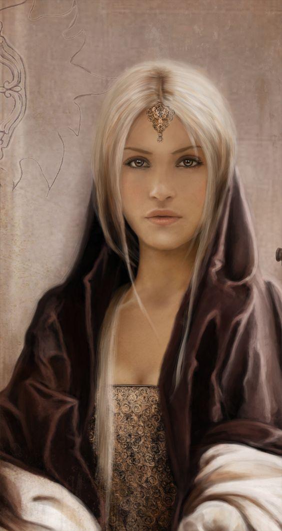 3d model of blonde - photo #16